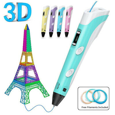 3D Doodler Drawing Printing Pen Printing Pen Toys Gift for Kids Adults USB Cable