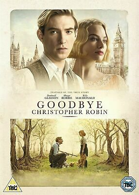 GOODBYE CHRISTOPHER ROBIN DVD Domhnall Gleeson  New Sealed Original UK R2