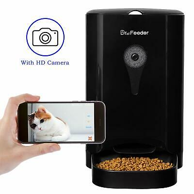 4.5L Smart Feeder Automatic Pet Feeder for Cats and Dogs HD Camera for Video ...