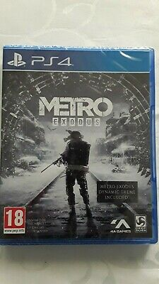 METRO - EXODUS game for Sony Playstation 4 (BRAND NEW & SEALED)