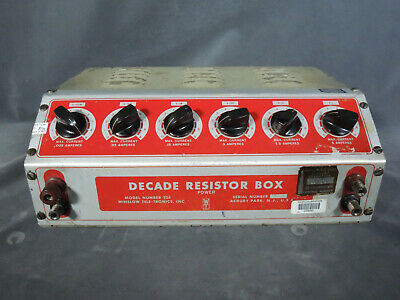 NASA APOLLO Stennis Space Cntr Test Equipment Winslow 336 Decade Resistance Box