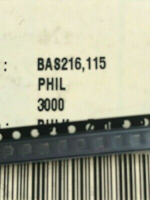 BAS216 Diode Switching 85V 0.25A Automotive 2-Pin SOD Philips 50pcs £3.50 Z3255