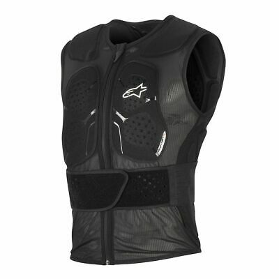 Alpinestars Track Vest 2 Black Chest Back Protector New RRP £169.99!!