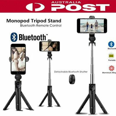 Portable Wireless Bluetooth Extendable Tripod Selfie Stick For Mobile Phones VW
