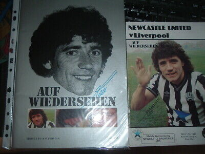 Newcastle Utd v Liverpool May 1984 Farewell to Kevin Keegan + brochure