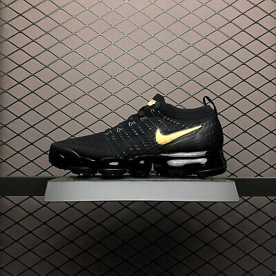 Nike Air Vapormax Flyknit 2 II Classic white men's running shoes Black consists