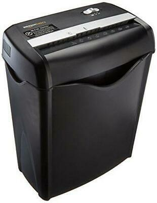 6-Sheet Cross-Cut Paper and Credit Card Home Office Shredder