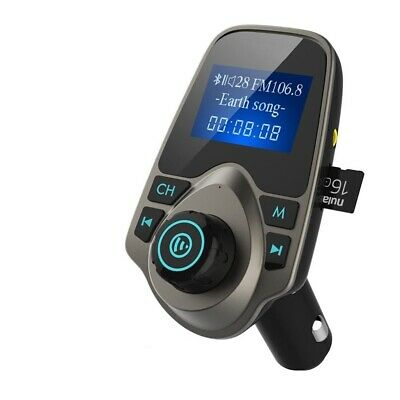 Wireless Bluetooth FM Transmitter Hands Free Modulator USB Car Kit MP3 Player