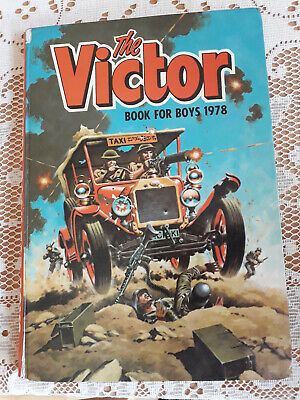 The Victor Book for Boys 1978 (Annual), D C Thomsom Excellent Condition.