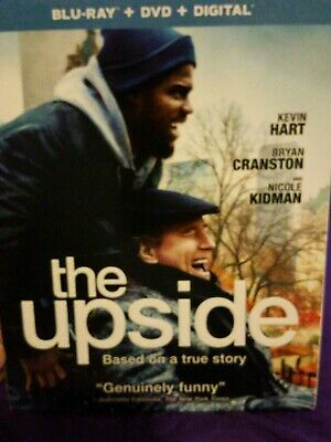 The Upside Blu Ray / Dvd / Digital **Brand New**