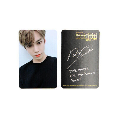 [NCT127]4th mini album/NCT #127 WE ARE SUPERHUMAN Official Photocard / DOYOUNG