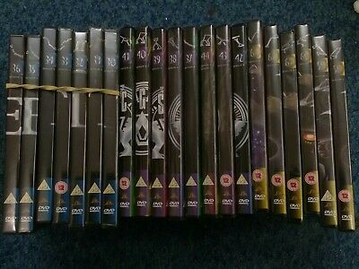 21 Stargate DVD Collection SG1 Series 5/6/9