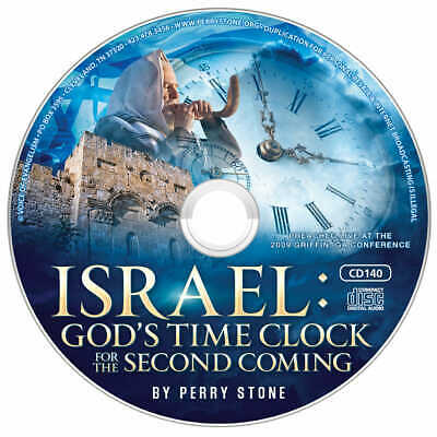 """PERRY STONE-""""Israel: God's Time Clock For the 2nd Coming""""-CD"""