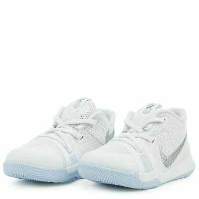 100% authentic 481ab be001 NIKE KYRIE 3 TD Toddler Shoes White 869984 103