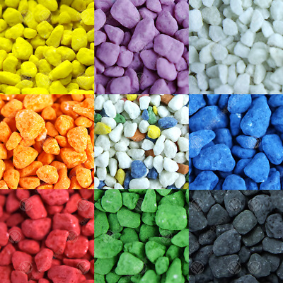 GardenersDream Coloured Aquatic Gravel - Premium Natural Bottom Fish Tank Stones