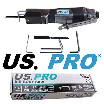 US PRO Tools Air Body Saw, Reciprocating, Pneumatic Tool 8322