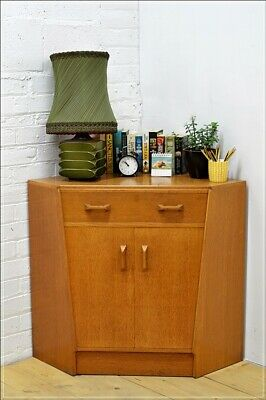 vintage desk sideboard corner G Plan E Gomme mid century danish  UK DELIVERY
