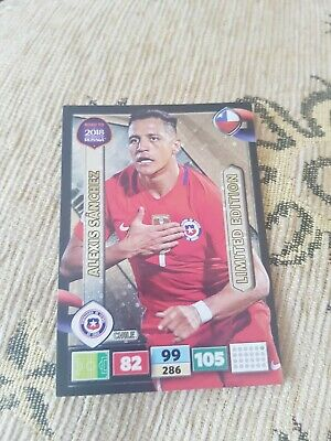 Panini Road to World Cup 2018 Russia Limited Edition XL Alexis SANCHEZ