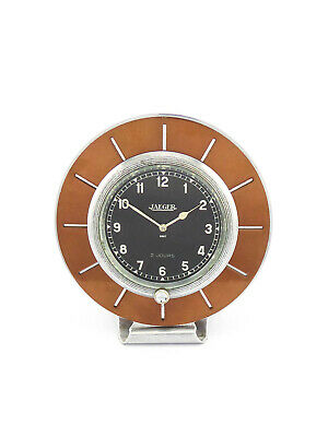 Extremely rare table desk clock by JAEGER france from the 30ies, Art Deco design