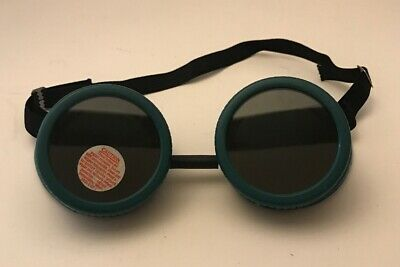 Vintage Welding Motorcycle Goggles Made In USA