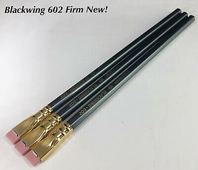 PALOMINO BLACKWING Pencil 602 3 pc, FIRM GRAPHITE Brand New