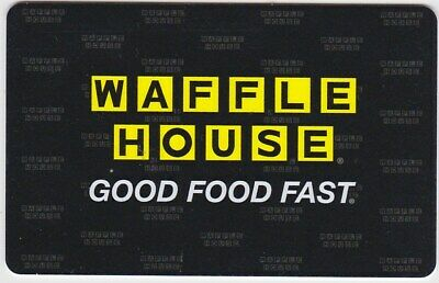 Waffle House Restaurant Good Food Fast 2017 Gift Card Collectible NO $Value