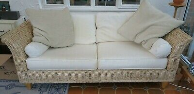 Rattan sofas - 3 seater and 2 seater from The Cotswold Company