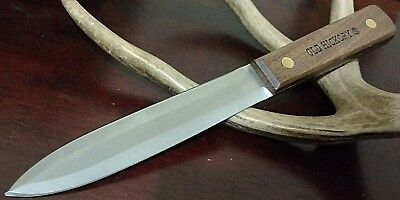 Old Hickory Pig Sticker Hunting Bowie Knife Full Tang Fixed Blade Dagger !!!