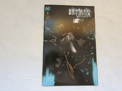 Batman Who Laughs #1 Grim Knight Jock Variant - Signed - DC New 2019