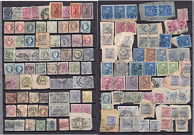 Austria..turkey..italy..greece..a Super Lot Of Early Stamps & Cancels..levant..