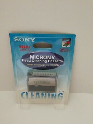 Sony Micro Mv Head Cleaning Cassette Tape new sealed