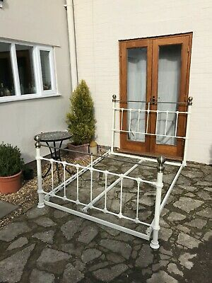 Victorian-style Metal Parker Double Bed Frame