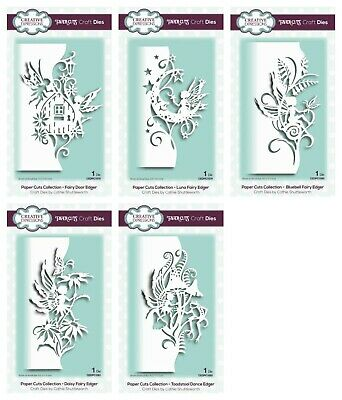 CREATIVE EXPRESSIONS Paper Cuts Collection - Fairy Edger Die - June 2019 FREE PP