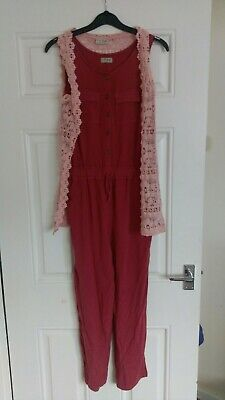 Girls Next Outfit jumpsuit and Knitted Top 10-11 Years