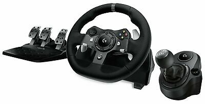 Logitech G920 Driving Force Racing Wheel for Xbox one,PC + Driving Force Shifter