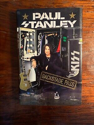 Backstage Pass by Paul Stanley Hardcover Rock Music (Books) personal life NEW