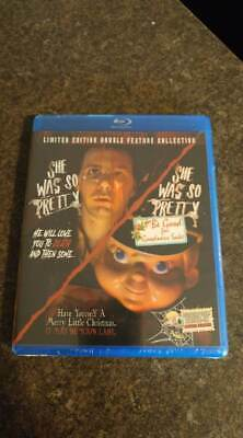 She Was So Pretty Part 1 & 2 BLURAY- Serial Killer Double Feature NEW IN PLASTIC