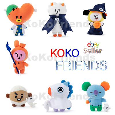 BTS BT21 Official Halloween Standing Plush Doll Limited Edition KPOP Authentic