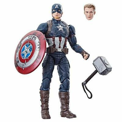 Marvel Legends Worthy Captain America Power and Glory Exclusive with Mjolnir Ham