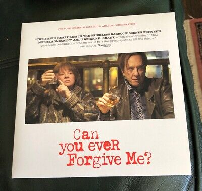 "FOX Searchlight ""Can You Ever Forgive Me?"" FYC DVD New"