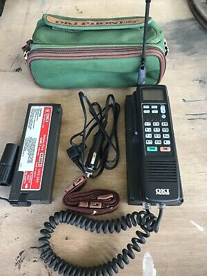 Vintage OKI UM9038 Portable Bag Car Phone