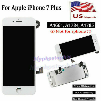 For iPhone 7 Plus 5.5'' LCD Display Touch Screen Replacement with Camera White