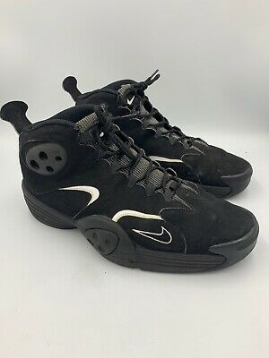 Nike Flight One Penny Hardaway Foamposite 538133-010 Men Size 11.5 Black Sneaker