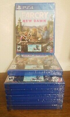 BRAND NEW! Far Cry New Dawn PS4 + Unicorn trike code FACTORY SEALED, Ships Free!