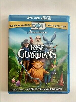 Rise of the Guardians (Blu-ray 3D/Blu-ray/DVD, 2013)
