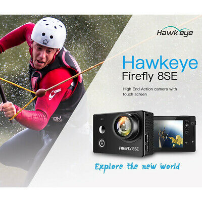 New Hawkeye Firefly 8SE 4K 170 Degree Screen WIFI FPV Action Sports Camera 2019