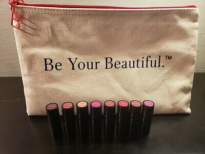 Beautycounter Mini Lipstick Color Collection Gift Set & Be Your Beautiful Bag