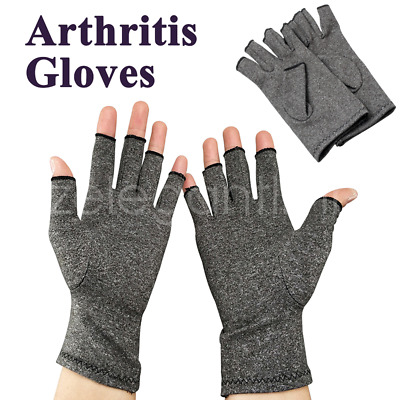 Gloves Compression Arthritis Joint Finger Pain Relief Hand Wrist Support Brace