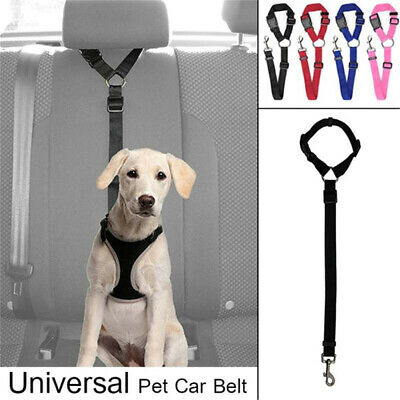 Cat Dog Pet Safety Seat Belt Strap Restraint Harness Leash Travel Harness Lead