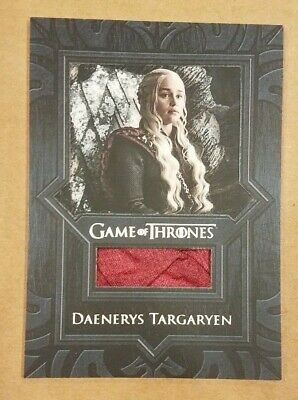 Game of Thrones Inflexions Emilia Clarke as Daenerys Targaryen Cape Relic VR9
